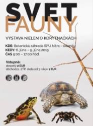Výstava svět fauny 6.6.-9.7.2019