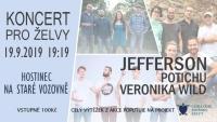 Koncert pro želvy 19.9. 2019 od 19:19